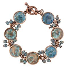 Groovy Copper Bracelet | Fusion Beads Inspiration Gallery