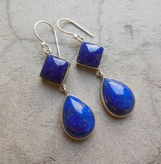 Hey, I found this really awesome Etsy listing at https://www.etsy.com/listing/200401986/dangler-earrings-lapis-lazuli-earrings
