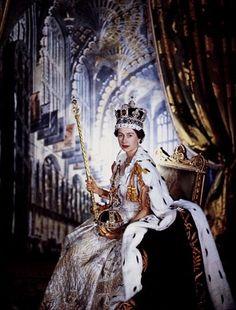The Coronation of Queen Elizabeth II. June 2nd 1953.