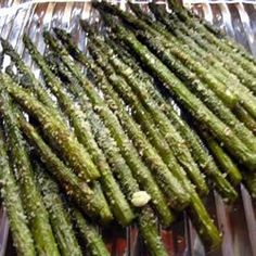 Parmesan Asparagus recipe. Super delicious!