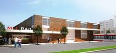 Architectural Renderings Unveiled for M-1 RAIL's $6.9 Million Tech Center