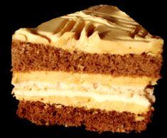 Kakaovo karamelové rezy so snehovým plátom - recept Vanilla Cake, Tiramisu, Cheesecake, Ethnic Recipes, Food, Russian Recipes, Cakes, Polish, Sweets