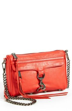 Rebecca Minkoff 'Mini M.A.C.' Leather Crossbody Clutch available at #Nordstrom
