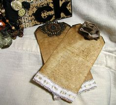toilet paper journal | Toilet Paper Roll Mini Album by cpbunch - Cards and Paper Crafts at ...