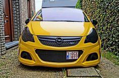 Yellow Corsa OPC