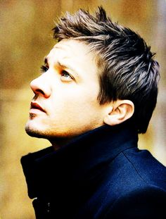 Jeremy Renner. Can't wait to see Renner star in the next episode of the Bourne…