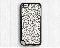 line design Ipod touch 4 case,pictorial iPod touch 5 case,cat IPod 5 case,GEA