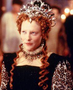 Queen Elizabeth I (Cate Blanchett) 'Elizabeth' 1998. Costume designed by Alexandra Byrne.