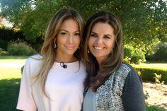 Jennifer Lopez talks struggles & love with Maria Shriver