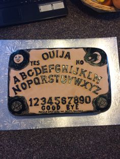 Coolest Ouija Board Cake Ideas In 2018