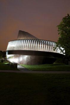 Serpentine Gallery Pavilion 2007 designed by Olafur Eliasson and Kjetil Thorsen