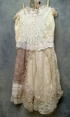 Lace cream and ivory by resurrection rags