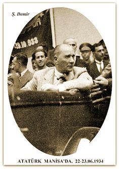 ATATÜRK MANİSA'DA.  22-23.06.1934