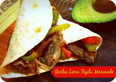 garlic lime fajita m