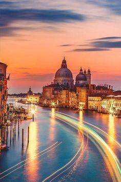 La magia de Venecia, Italia