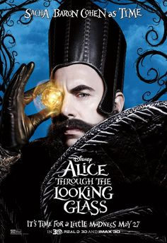 """Alice Through the Looking Glass """"It's time for a little madness"""""""