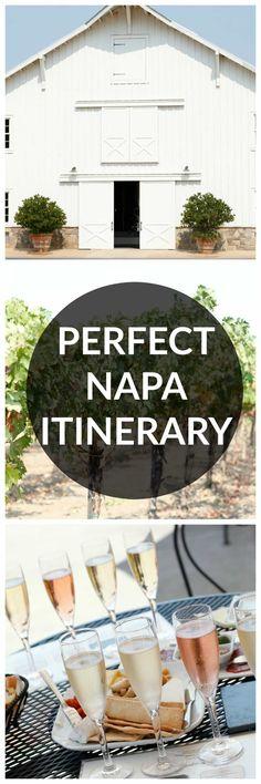 napa itinerary