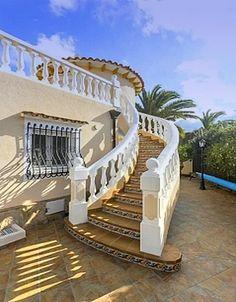 Luxusvilla San Nicolás, Denia, Costa Blanca, Spain Real Estates, Luxury Real Estate, Garden Bridge, Outdoor Structures, Outdoor Decor, Home Decor, Saint Nicholas, Real Estate, Decoration Home