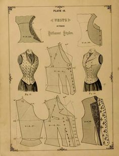 Victorian vest pattern https://www.etsy.com/listing/269893538/victorian-1897-steampunk-harry-potter?ref=shop_home_active_4