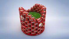 Design de produtos - COPA BRAHMA - CINEMA 4D - PHOTOSHOP