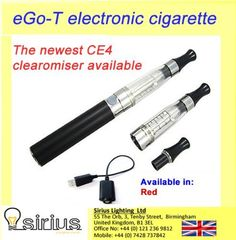 Rechargable sheesha Electronic Shisha Ego-C CE4 Cigarette Hookah Pen in Red Colour starter pack, clearomiser with battery and cartomiser and usb charger. LATEST DESIGN! Highest quality on Amazon!, http://www.amazon.co.uk/dp/B00ER5UJH8/ref=cm_sw_r_pi_awd_G8q1sb1P10ZQZ