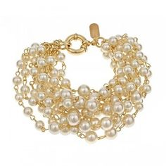 Laura Lance Collection Rachelle Bracelet in Ivory