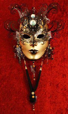 - Bluemoon Venice ~ Venetian Carnival Mask - 🌻 For more great pins go to Venetian Carnival Masks, Carnival Of Venice, Venetian Masquerade, Masquerade Party, Masquerade Masks, Mardi Gras, Costume Venitien, Art Du Monde, Venice Mask