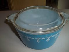 Garland Pyrex #475-B, 2.5 Quart, Vintage, Casserole Dish, Baking Dish, Bowl with Lid by PyrexKitchen on Etsy