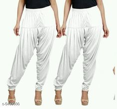 Checkout this latest Patialas Product Name: *Fabulous Women's Patiala Pants Combo (Pack Of 2)* Fabric: Cotton Viscose  Waist Size: XL - 34 in XXL - 36 in  Length: Up To 40 in Type: Stitched Description: It Has 2 Pieces Of Women's Patiala Pants Pattern: Solid Country of Origin: India Easy Returns Available In Case Of Any Issue   Catalog Rating: ★4 (1062)  Catalog Name: Sana Fabulous Women's Patiala Pants Combo Vol 8 With CatalogID_813672 C74-SC1018 Code: 853-5455600-168