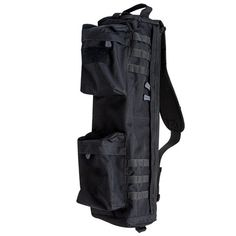 """S.O.TECH Go Bag, Double Extended can fit a broken down AR rifle with a 16"""" barrel. If you order an insert it creates two padded compartments to protect your AR. Very cool and made in the USA. www.sotechtactical.com Ar Rifle, Tactical Bag, Go Bags, Brown, Shooting Sports, Tech, Stuff To Buy, Barrel, Black"""