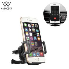 XMXCZKJ Universal Mobile Phone Car Air Vent Holder Phone Accessories For Car For iPhone 7 7 Plus Plus Samsung Galaxy For Xiaomi * AliExpress Affiliate's buyable pin. Click the VISIT button to find out more on www.aliexpress.com #PhoneHolders