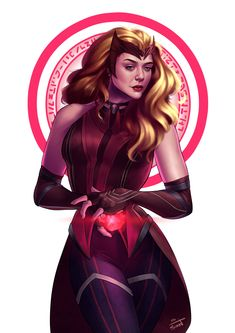 MCU Scarlet Witch, Angel Solórzano