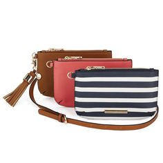The Mix and Match Trio Mix N Match, Vegan Leather, Peonies, Poppy, Nautical, Style Me, Bucket, Gems, Handbags