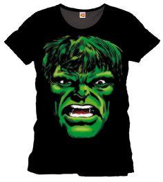 Hulk T-Shirt Angry Face
