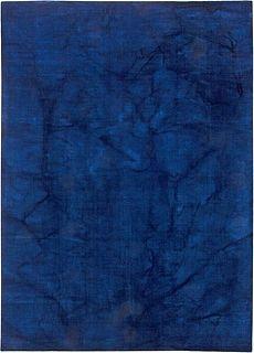 Contemporary Agua Blue Rug 12x9 N10846
