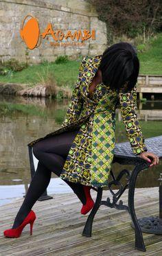 Absolutely love this pic. I want the jacket too! #Ankara fashion