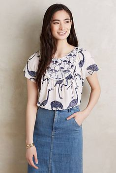 Wild Flamingo Top