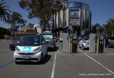 One really cool eco service offered when you visit the museums at Balboa Park, is the electric car charging stations!  Your car will be fully charged by the time you complete your tours!
