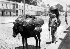 Vendedor de ollas 1920