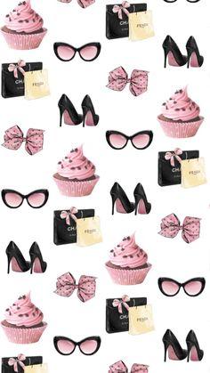 By Artist Super charmoso Wallpaper Mobile Phone designs Fashion Wallpaper, Pink Wallpaper, Mobile Wallpaper, Chanel Wallpapers, Cute Wallpapers, Cute Backgrounds, Wallpaper Backgrounds, Wallpaper Quotes, Cellphone Wallpaper