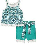 """Star Ride Little Girls' Toddler """"Cosmic Cool"""" 2-Piece Out..."""