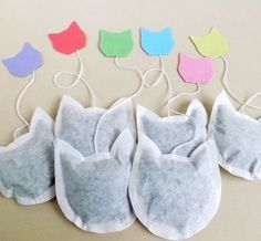 It's National Tea Day & how cool r these cat tea bags! I need some! #nationalteaday #t