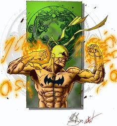 Iron fist second collab by ~Eritrocina