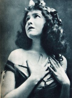Dorothy Gish - silent Movie star (1898-1968)