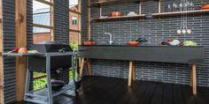 adelaparvu.com despre chiosc de gradina in stil industrial, design Liudmila Verba, Foto Olga Oliushina (1)