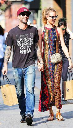 最旬セレブカップルのデートLOOKを追跡! | FASHION | ファッション | VOGUE GIRL ベハティ・プリンスルー×アダム・レヴィーン