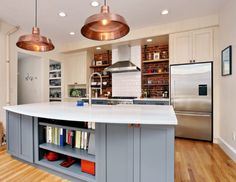 beautiful reclaimed wood kitchen island blended with traditional new england style kitchens pinterest wood kitchen island kitchens and