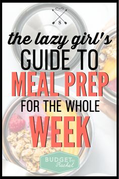Having a meal plan and then doing meal prep for the week will set you up for stress-free dinner time. These tips save me hours each week cooking and cleaning in the kitchen. Save Money On Groceries, Ways To Save Money, Money Tips, Money Plan, No Spend Challenge, Money Saving Challenge, Budgeting Finances, Budgeting Tips, Lazy