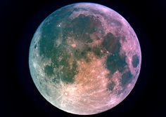I love looking at a full moon...it is beautiful...
