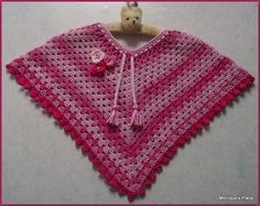 Monique's place: Meisjes poncho
